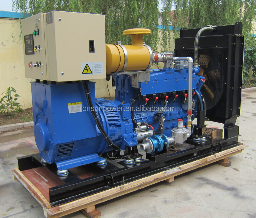10kw-160kw CE&ISO certificated LPG gas genset