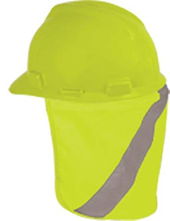 ca5797da9ae Get Quotations · ML Kishigo 2808 Polyester Hard Hat Nape Protector