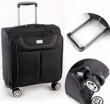 China Factory 1680d Nylon Rolling Mobile Office Luggage Travel Trolley Laptop Bag Lightweight Business Man