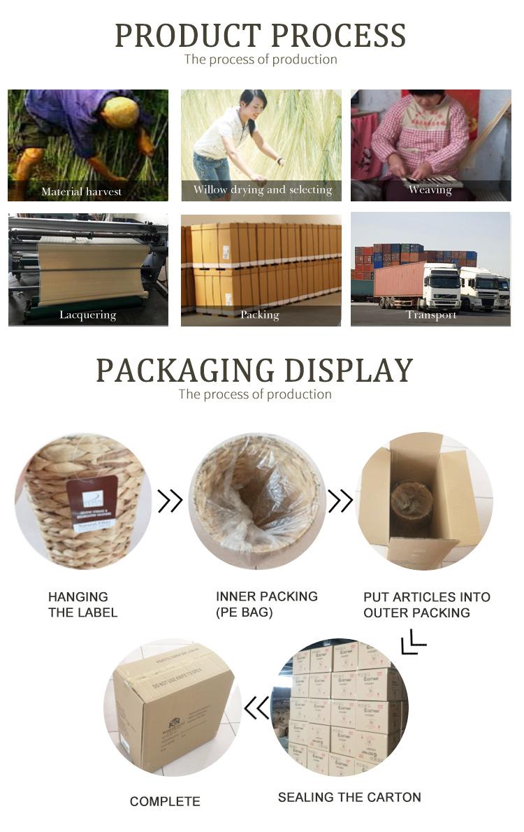 Vimini da picnic tessitura cestino di legno cesto di frutta cestino da picnic