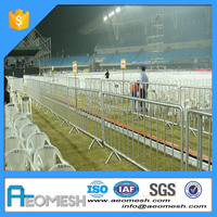 Metal Galvanized Safety Temporary Traffic Road Barrier Supplier
