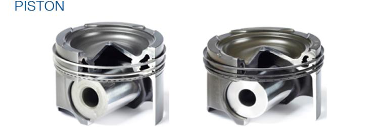 Chất Lượng cao Nhiệt Độ Động Cơ Piston và Piston Ring cho Thuyền