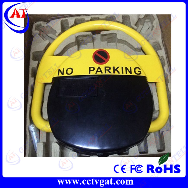 Auto-repositioning A3 steel 30m remote control solar powered parking barrier / car security parking lock