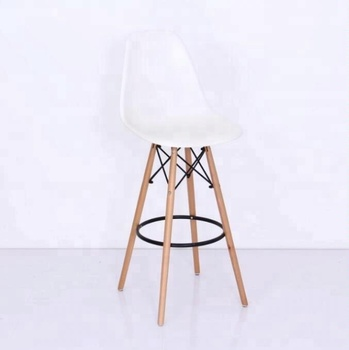 30inch Seat Wooden Bar Stool Chair With Footrest Buy Bar Chair