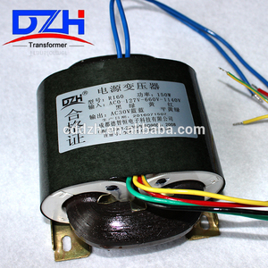 High quality long duration time cast resin earthing transformer for medical use