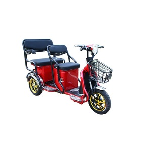 2018 manufacturers electric tricycle for 2 person/electric tricycle 3 wheel/new electric tricycle passenger for elderly people
