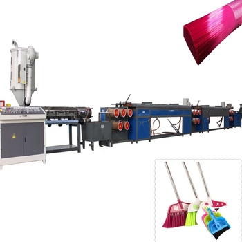 Customizable plastic broom wire string pet filament extruder plastic yarn making machine