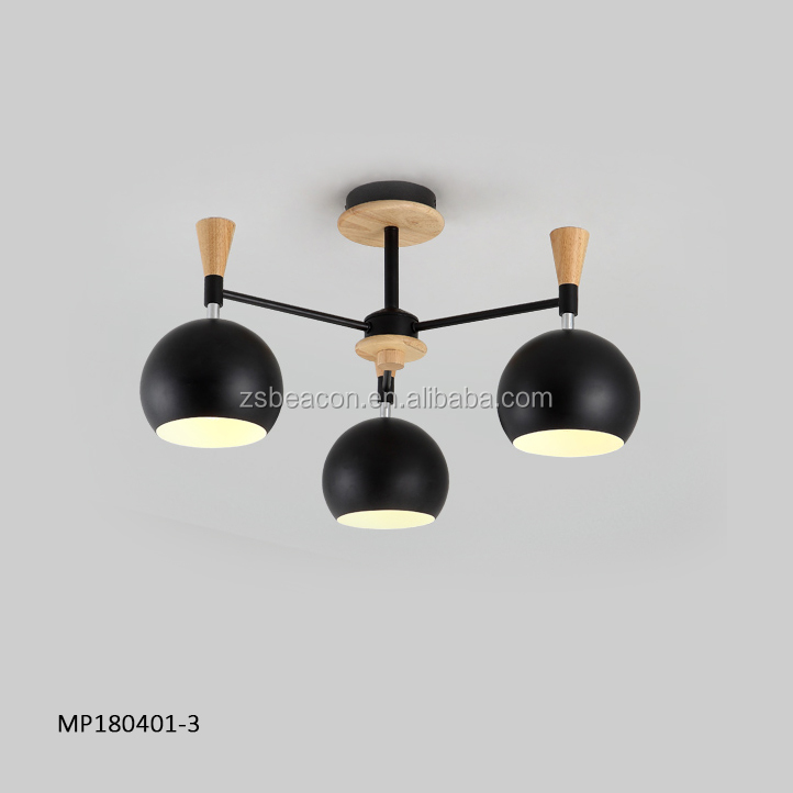 2018 New butterfly fresh brisk refreshing crisp style Macarons colors chandelier pendant light lamp for home with Good quality