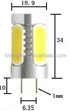 New Gy 6.35 Led Light G4 Led Car Light 12v 6w Led Bulb Gy6.35 ...