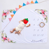 Amazon Newborn Girls or Boys Photo Prop Muslin Swaddle Soft Photography Background Baby Monthly Milestone Blanket