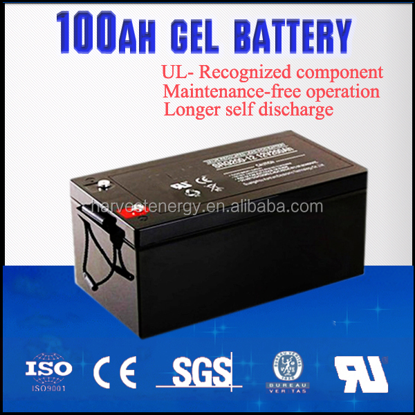 12v 100ah gel battery free maintenance over discharge. Black Bedroom Furniture Sets. Home Design Ideas
