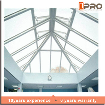 Aluminum Photo Frame Skylight Roofing With Tempered Gl Roof Product On Alibaba