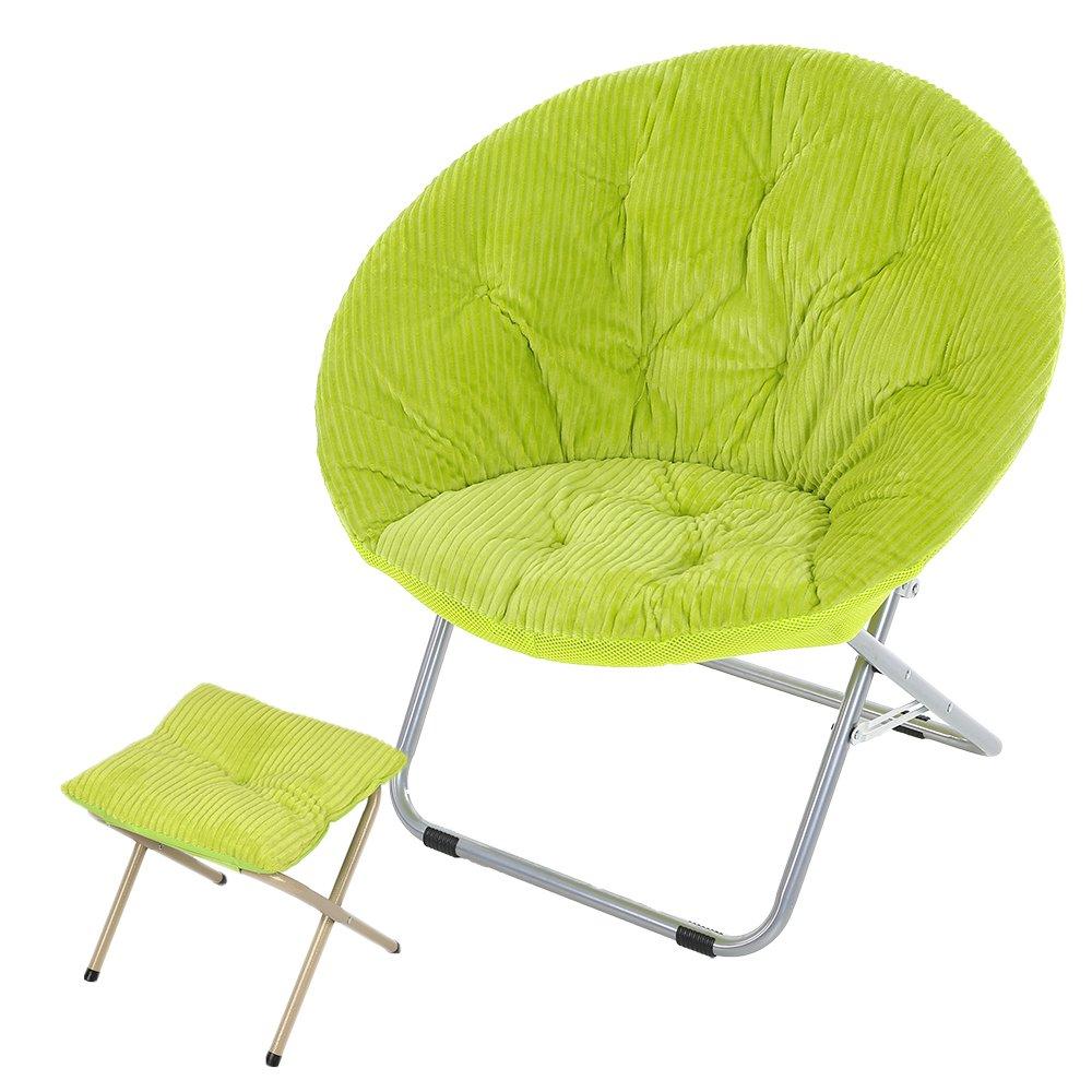 Enjoyable Buy Genubi Saucer Chair Removable Cover Foldable Indoor Forskolin Free Trial Chair Design Images Forskolin Free Trialorg