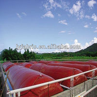 PVC Coated tarpaulin fabric for biogas digester