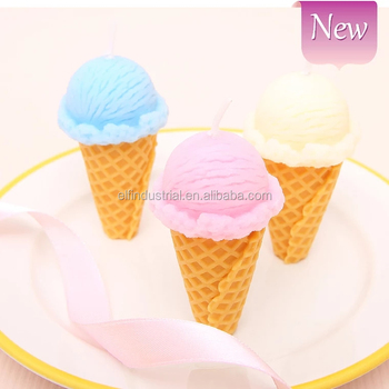 Happiness To Online Shopping Unique Handmade Ice Cream Birthday Candles Best Gift For Girlfriend