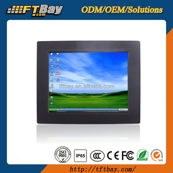 10 4''dual Core Industrial Panel Pc Fanless Mini Pc Embedded Android Gaming  Computer X86 Ubuntu 2 Ethernet 12v Linux I3/5/7 Win7 - Buy Industrial