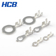 JST copper earthing circle lugs battery crimp ring terminal