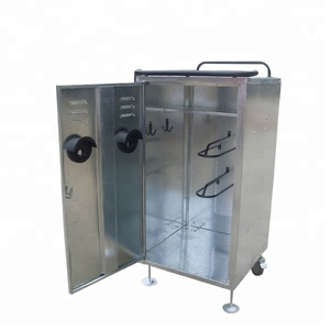 Professional Brand new racecourse portable horse equipment lockable stable cabinet storage