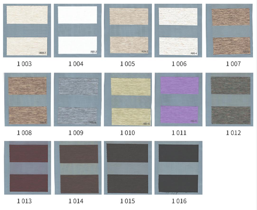 Standard Custom Elegant design for office decoration manual and electric Zebra Roller Blinds curtain