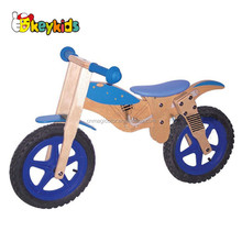 Wholesale attractive cheap product wooden running kids balance bike W16C027