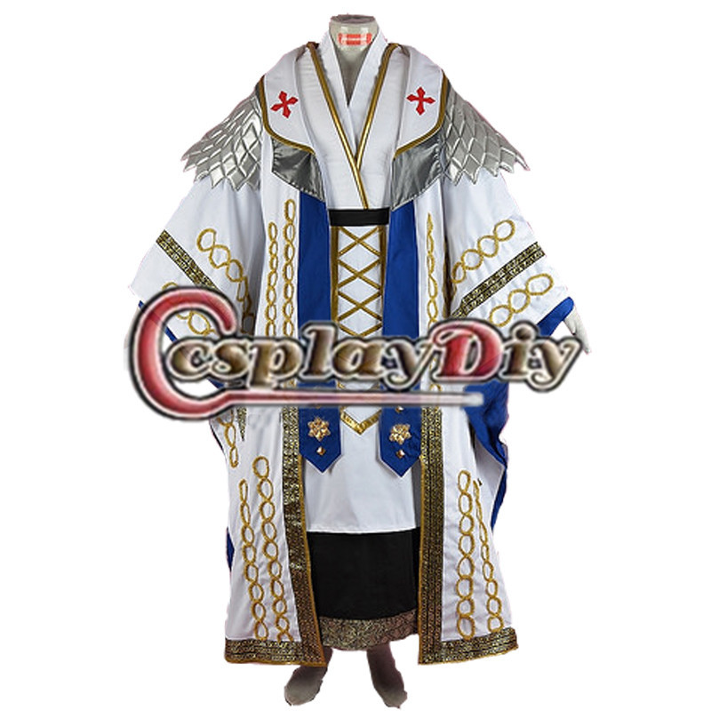 Final Fantasy XIV Thordan VII Cosplay Costume Adult Men's Halloween Carnival Game Costume Cosplay