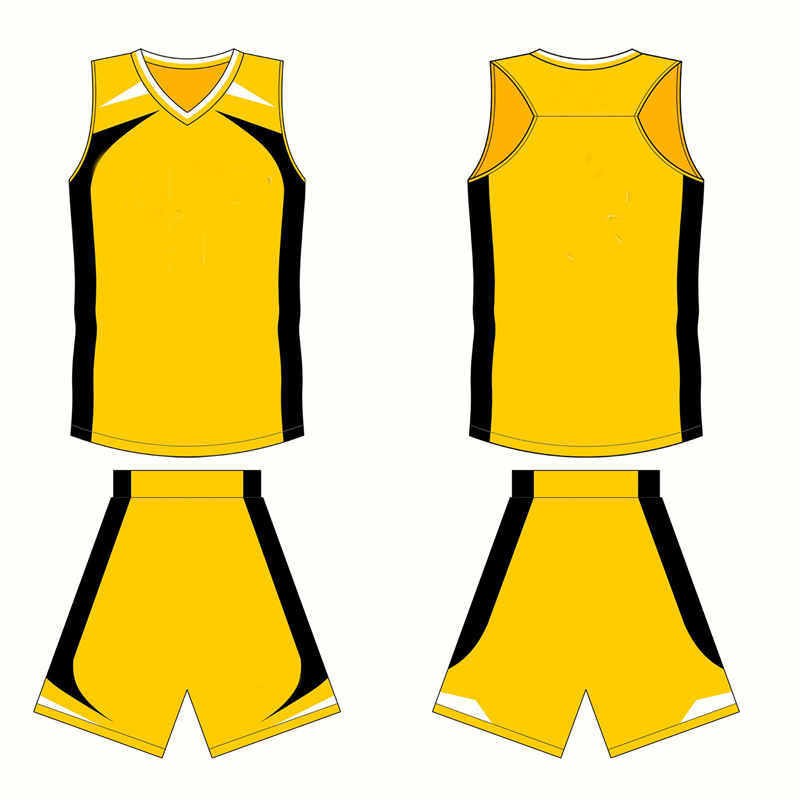 Yellow Custom Basketball Jersey Design Buy Custom Basketball