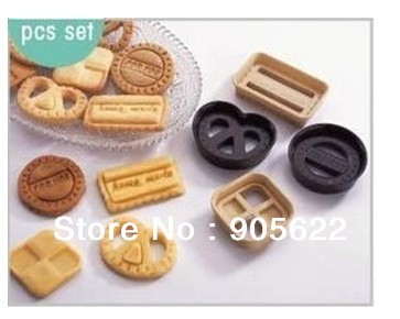 1set Lot 4 pcs set Denmark cookie cutter Free shipping Blister packing