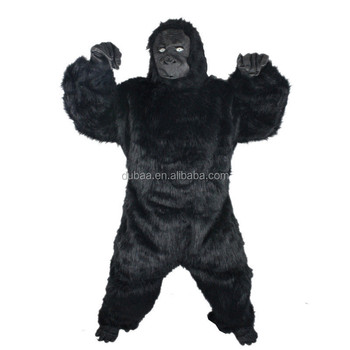 men s deluxe gorilla costume halloween oufits gorilla halloweenking kong 4pc full body cadbury