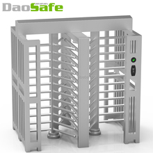Double Passage Barrier QR Code Reader Full Height Turnstile For Entrance