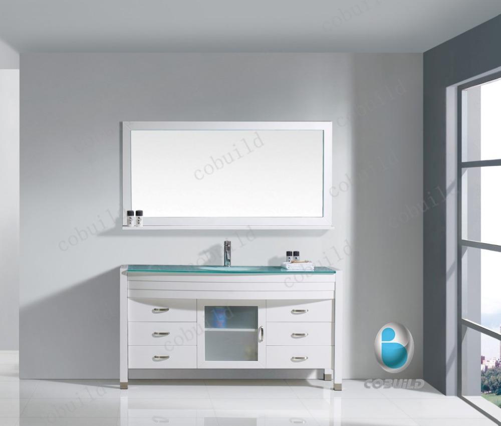 Bathroom Cabinets Floor Standing modern bathroom cabinet floor standing wooden vanity mirro