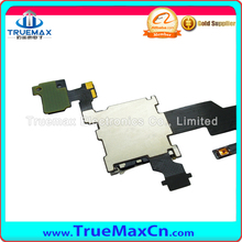 Original Volume Button Connetor flex for Htc One M8 Sim Card Holder Volume Button Flex Cable with wholesale Price free shipping