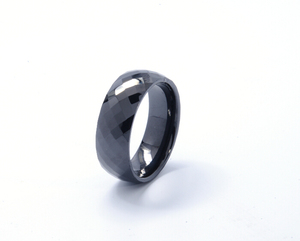 Latest fashion charm ceramic material rings for teenagers