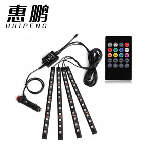 High Quality Music Voice Control Car Atmosphere Lights RGB Car Interior Led Light
