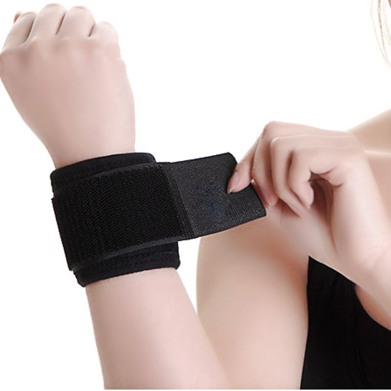 New product led gym wrist straps for running /bicycle safety armbands