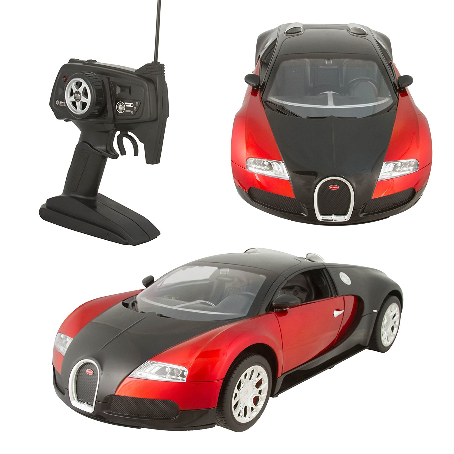 Get Quotations · Remote Control RC Bugatti 1:10 Quick Speed Authentic  Design   Includes Battery And UL