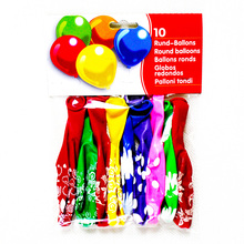 #decoration# 10pcs banner-packing 12-inch 2.8g cute picture party decoration balloons