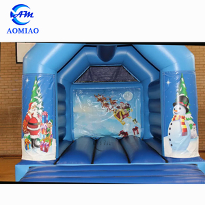 New design inflatable christmas bouncy house kids jumper bouncer for sale