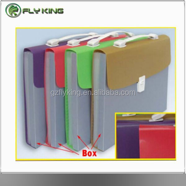 conference pad document expanding holder file with 7 pocket