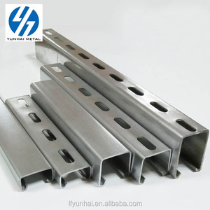 Hot dipped galvanized steel channels