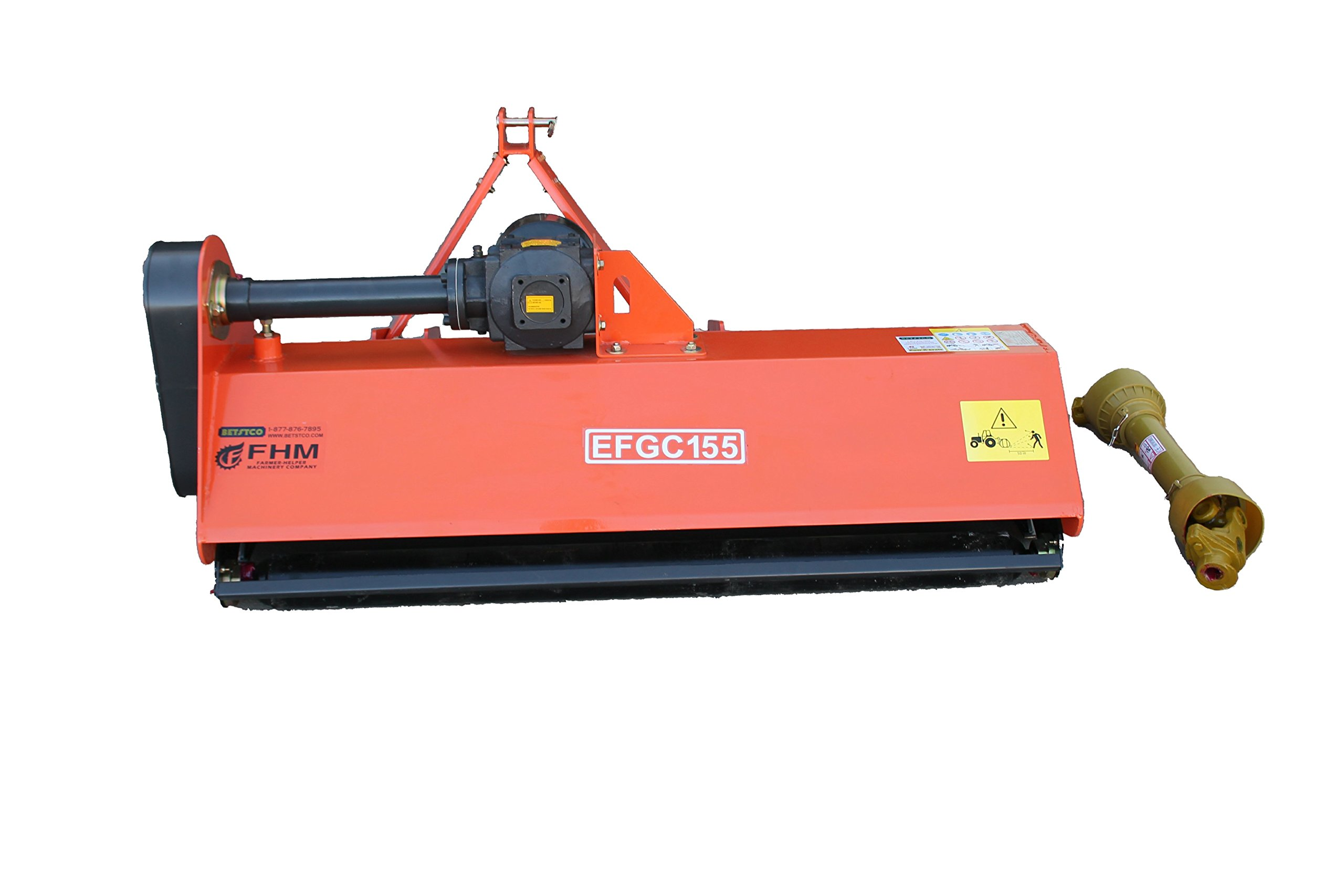 "Farmer Helper 60"" Heavy Duty Flail Mower Cat.I 3pt 25+HP Rating (FH-EFGC155)"