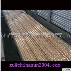 28*0.7 Aluminum Alloy Engraving Curtain Rods/Poles/Pipes