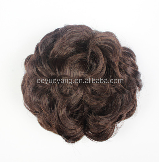 Chignon Type and Synthetic Hair,Heat Resistant Fiber Material Hair Bun Pieces