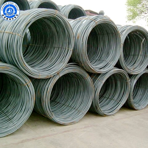 High / Low Carbon Hot Rolled Mild Steel Wire Rod Production Wire Rod Coil