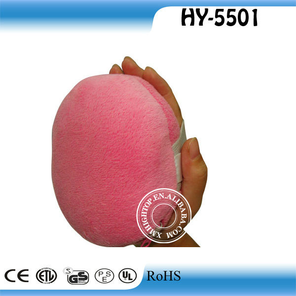 Palm Puff--Sumptuous and Soothing Massager