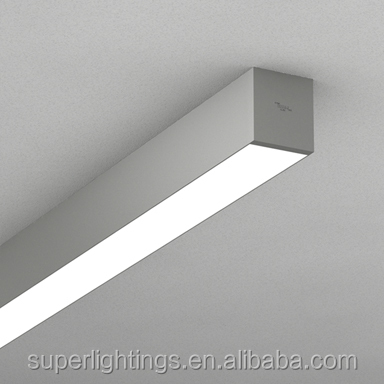 Office Surface Mount Ceiling Fluorescent Light Fixture Flush Mounted Lights Lighting Fixtures