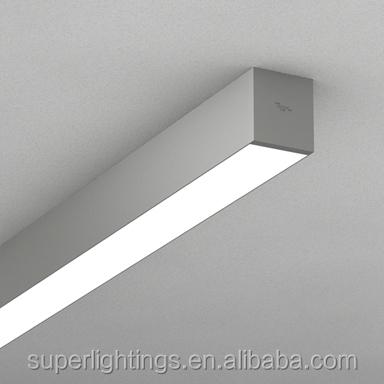 Office Surface Mount Ceiling Fluorescent Light Fixture,Flush ...