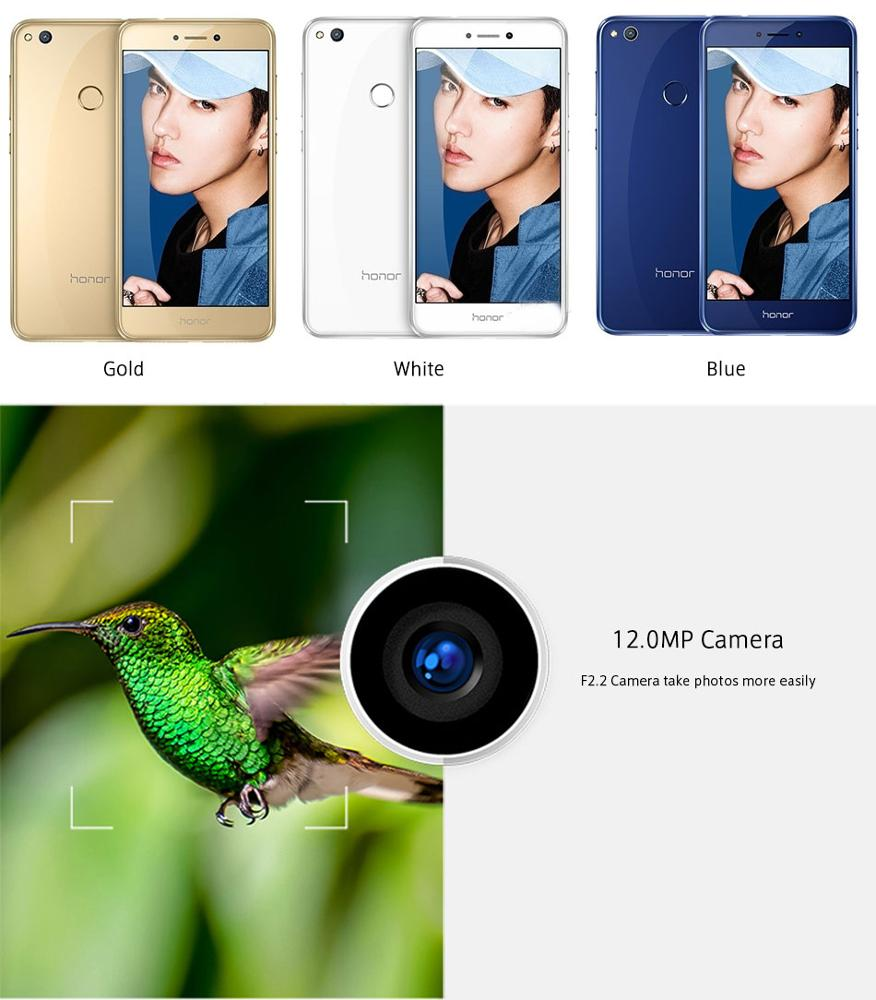 International Firmware Huawei Honor 8 Lite 4gb Ram 32gb Rom Mobile Phone  5 2 Inch Kirin 655 Octa Core 12 0mp Camera Fingerprint - Buy Huawei  Honor,New
