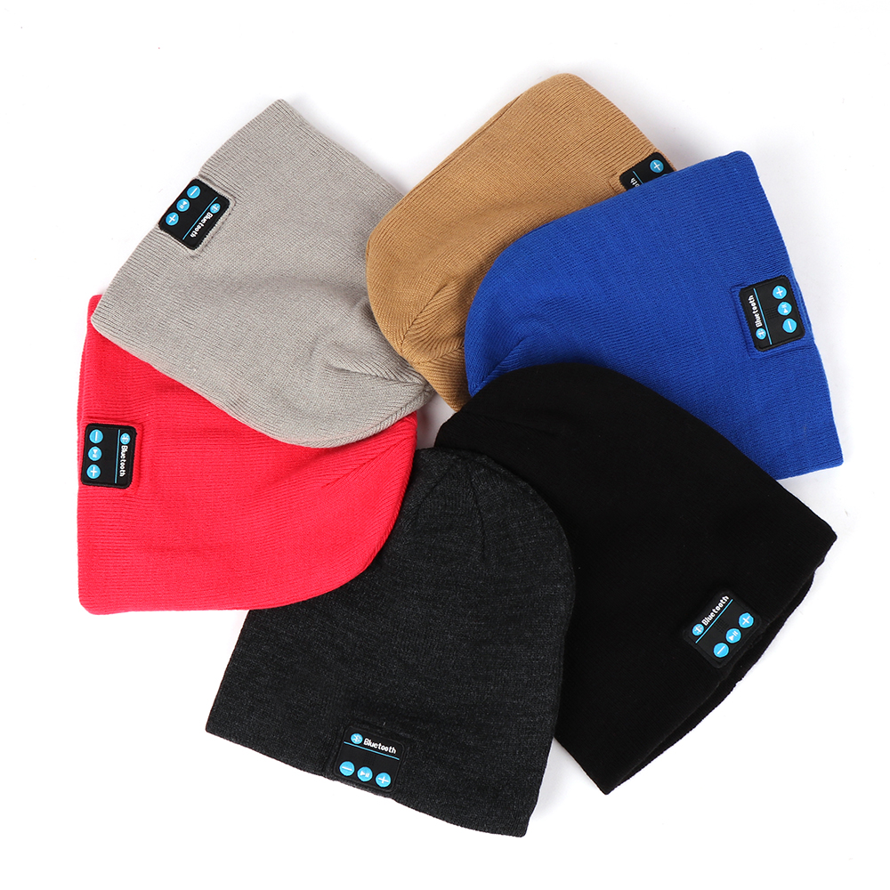 2018 <strong>New</strong> Arrival Wireless Bluetooth Beanie <strong>Hat</strong>,Promotional Gift Bluetooth Beanie