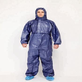 69fa120d2ca Men and Women Disposable Non Woven Work Wear Coverall Dust Proof Visiting  Cloth