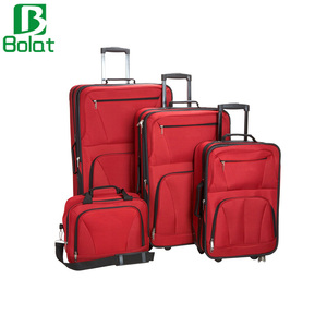 Luggage Skate Wheels 4 Pieces Luggage Set Trolly Suitcase Roller Luggage Bag
